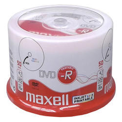 DVD-R MAXELL Printable 4,7GB 16X 50ks/cake