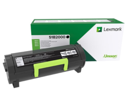 Toner Lexmark MS317,MS417, MX317,MX417 BLACK 2,5K