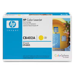 TONER HP CB402A CLJ CP4005, 7500str. Yellow