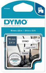 páska DYMO 16958 D1 Black On White Flexible Nylon Tape (19mm)