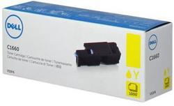 toner DELL V53F6 Yellow C1660w (1.000 str.)