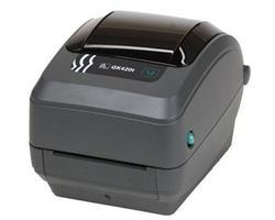 ZEBRA TT PRINTER GK420T; 203 DPI, EURO AND UK CORD, EPL, ZPLII, USB, SERIAL, CENTRONICS PARALLEL