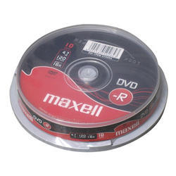DVD-R MAXELL 4,7GB 16X 10ks/cake