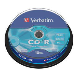 CD-R VERBATIM DTL 700MB 52X 10ks/cake