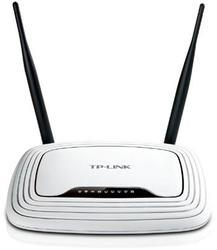 Wireles router TP-LINK TL-WR841N, 300 Mbps, 4-Port 10/100 Mbps Switch, MIMO, QoS, QSS, SPI firewall, dve fixné antény