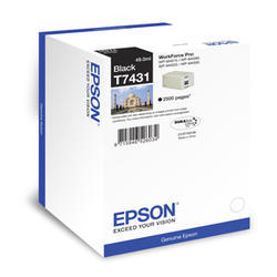 kazeta EPSON WorkForce WP-M4000/M4500 black 2.500 strán