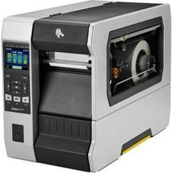 ZEBRA TT Printer ZT610; 4´, 300 dpi, Euro and UK cord,Serial,USB,Gigabit Ethernet,Bluetooth 4.0, USB Host,Rewind,Color