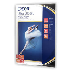 papier EPSON S041927 Ultra Glossy Photo 300g/m2, A4, 15ks