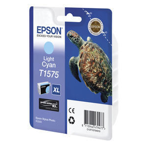 kazeta EPSON light-cyan, with pigment ink EPSON UltraChrome K3, series Turtle-Size XL, in blister pack RS. - 1