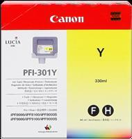 kazeta CANON PFI-301Y yellow iPF 8000/8000s/8100/9000/9000s/9100 (330ml)