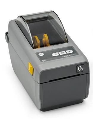 ZEBRA DT Printer ZD410; 2´, 203 dpi, EU and UK Cords, USB, USB Host, EZPL